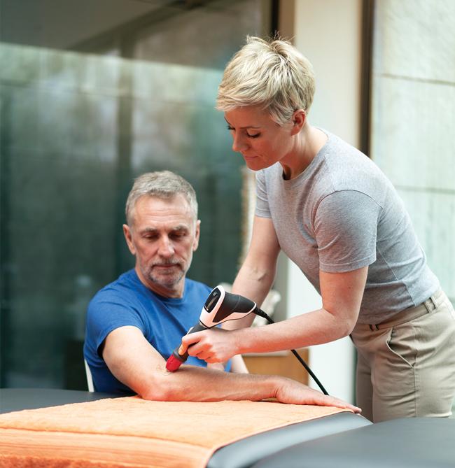 Ondes de choc radiales: petit guide pour le patient
