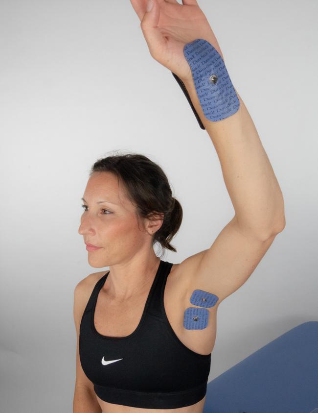 Exemple de positionnement classique pour un SDRC du poignet